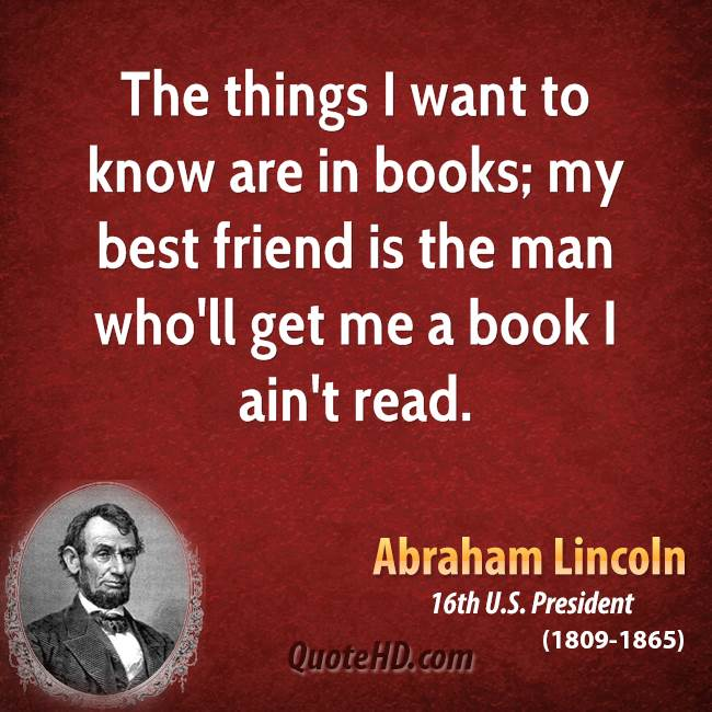 Abraham Lincoln Quotes Friendship: Best Friendship Quotes From Books. QuotesGram