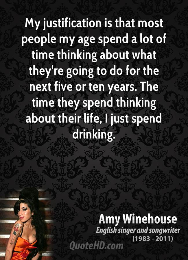 Amy Winehouse Age Quotes | QuoteHD