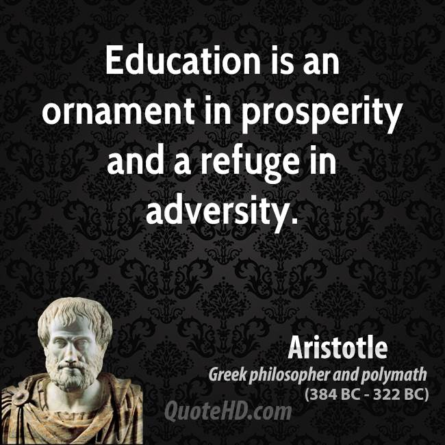 impact of aristotle on education Find out more about the history of aristotle, including videos, interesting articles, pictures, historical features and more get all the facts on historycom.