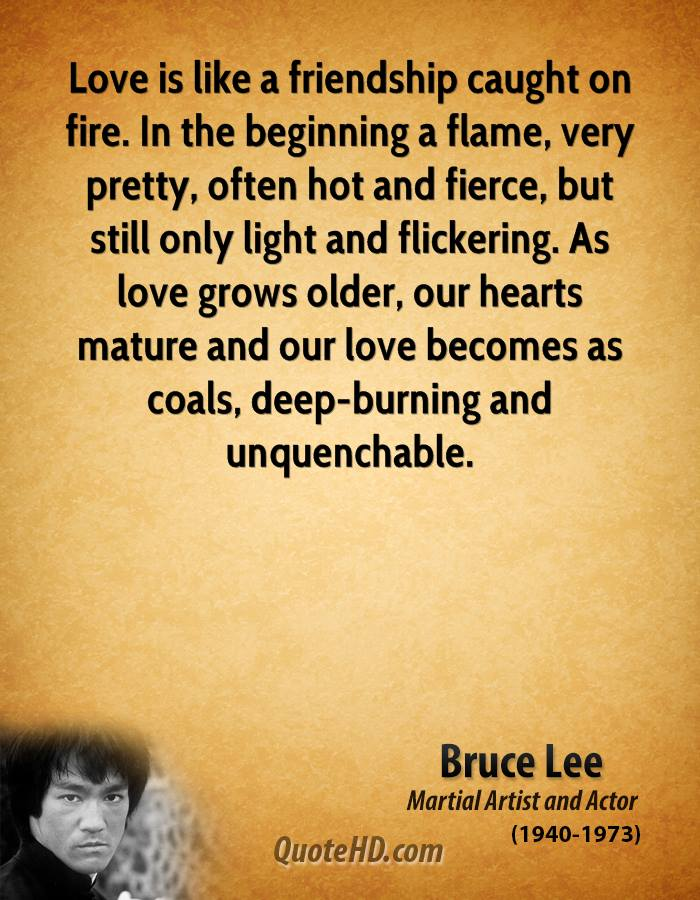 Bruce Lee Love Quotes Quotehd