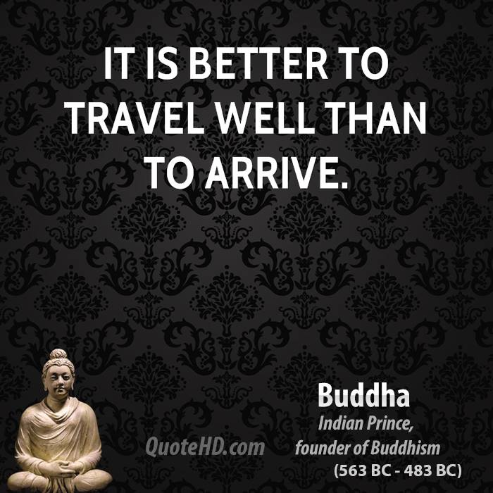 Buddha Travel Quotes Quotehd