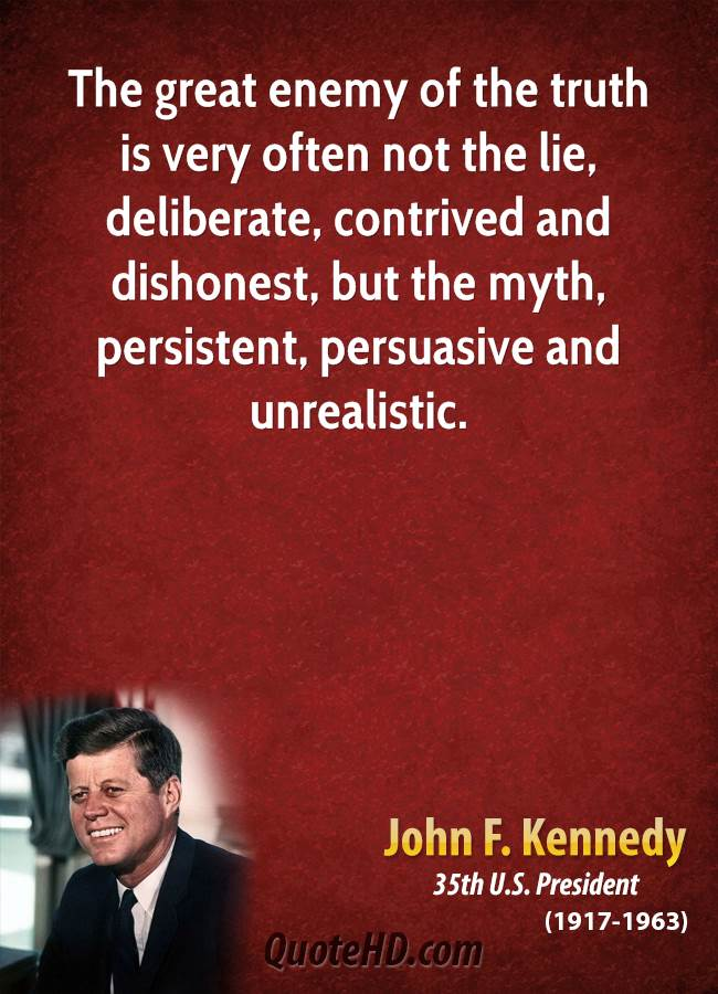 John F. Kennedy Quotes QuoteHD