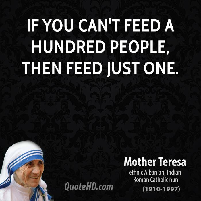 Quote From Mother Teresa: Mother Teresa Quotes On Charity. QuotesGram