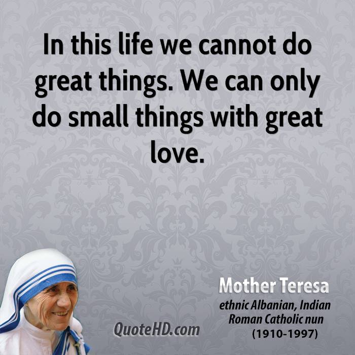 Quote From Mother Teresa: Mother Teresa Quotes On Life. QuotesGram