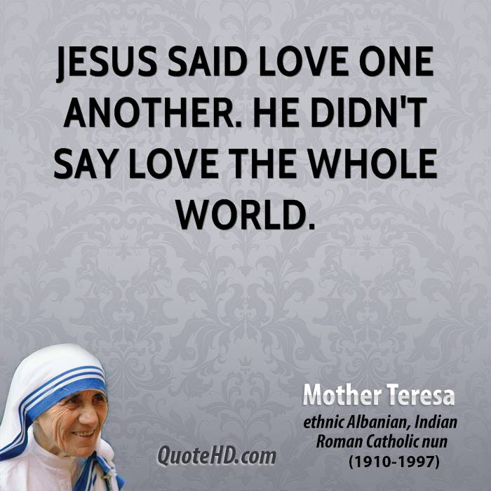 Love One Another Quotes Sayings: Quotes From Jesus About. QuotesGram