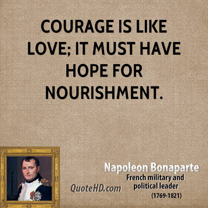 A leader must have courage do