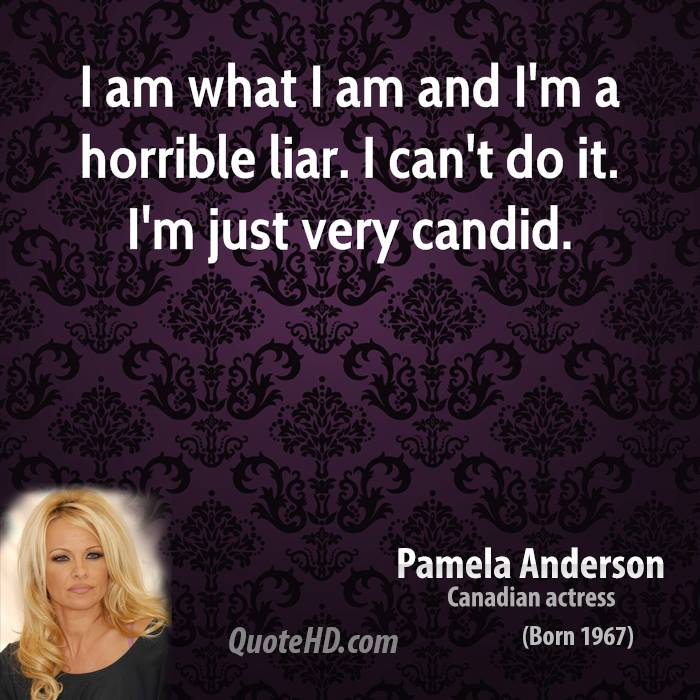 I Am Doing The Best I Can Quotes: Pamela Anderson Quotes