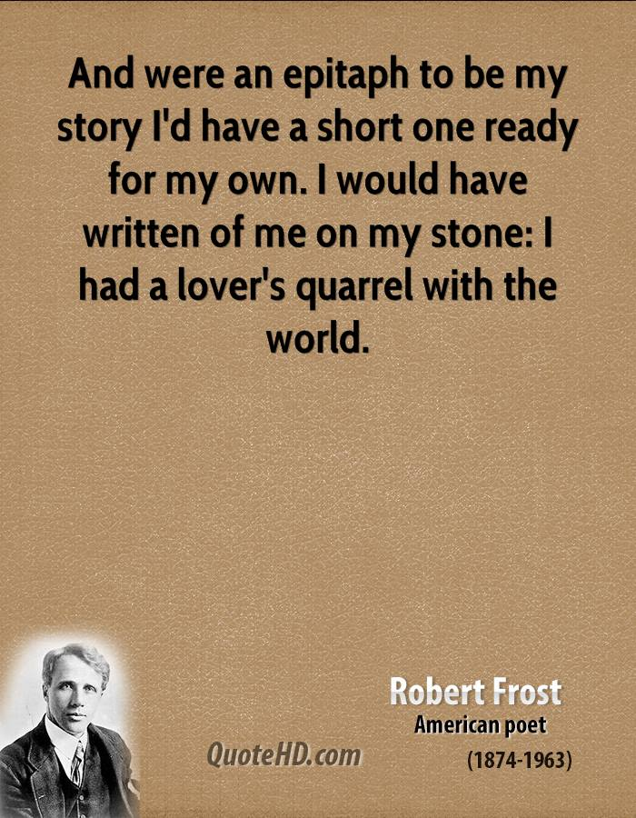 robert frost and nature Get an answer for 'why does robert frost use nature in his poems (especially in the road not taken)' and find homework help for other the road not taken questions.