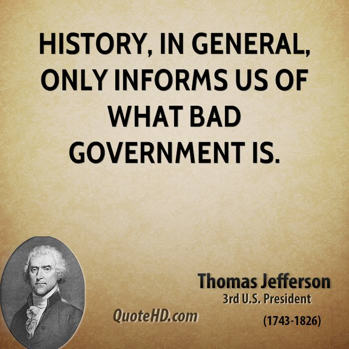 History about thomas jefferson quotes quotesgram Thomas jefferson quotes