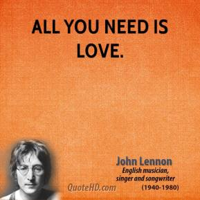 John Lennon Love Quotes Quotehd