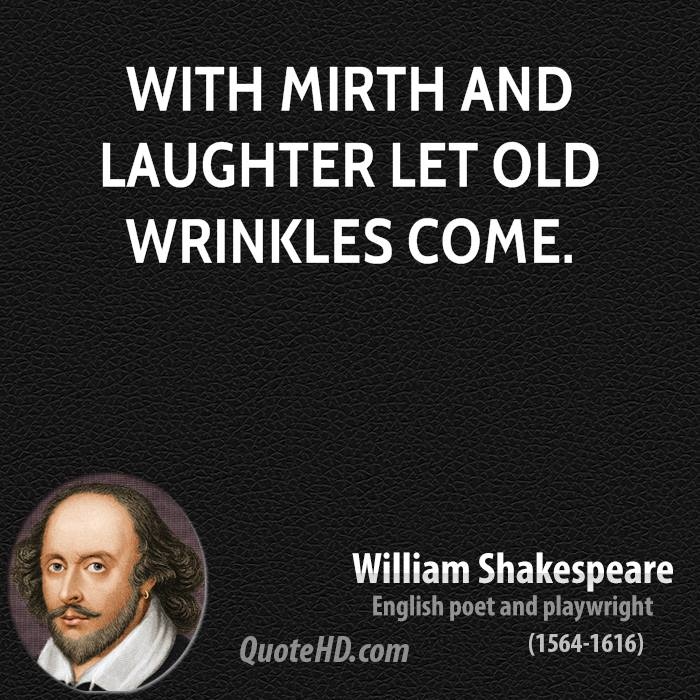 William Shakespeare thoughts