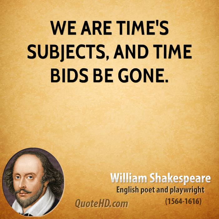 william shakespeare time quotes quotehd