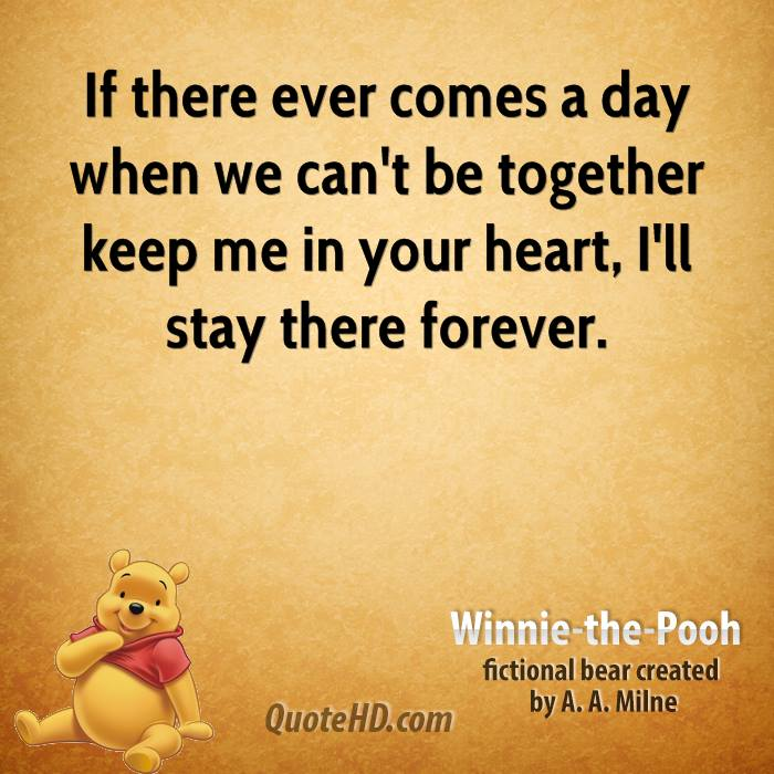 Winnie the Pooh Quotes | QuoteHD