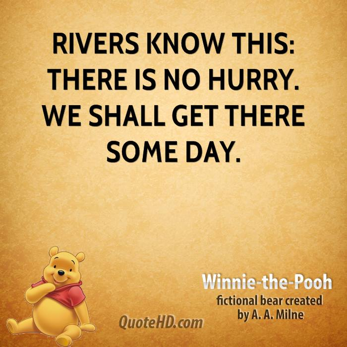Quotes About Rivers   Winnie The Pooh Quotes Quotehd