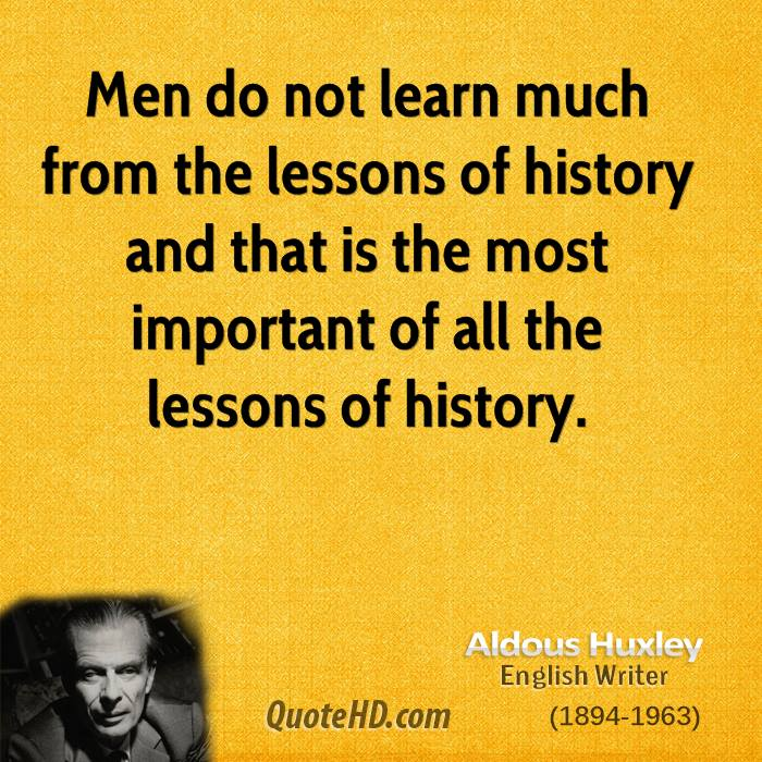 Aldous Huxley Men Quotes