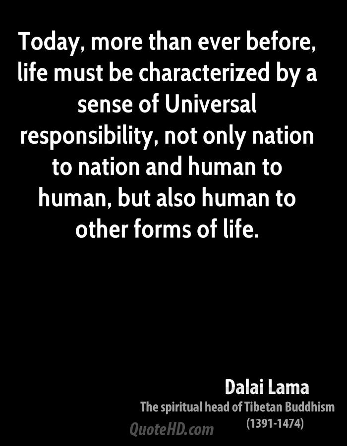 Dalai Lama Life Quotes QuoteHD Mesmerizing Quote For Today About Life