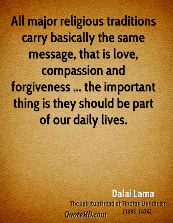 Dalai Lama Memorable Quotes...