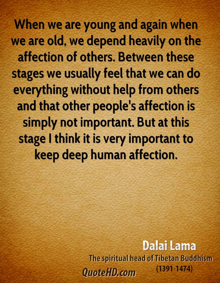 Quotes About Affection Dalai Lama Quotes  Quotehd