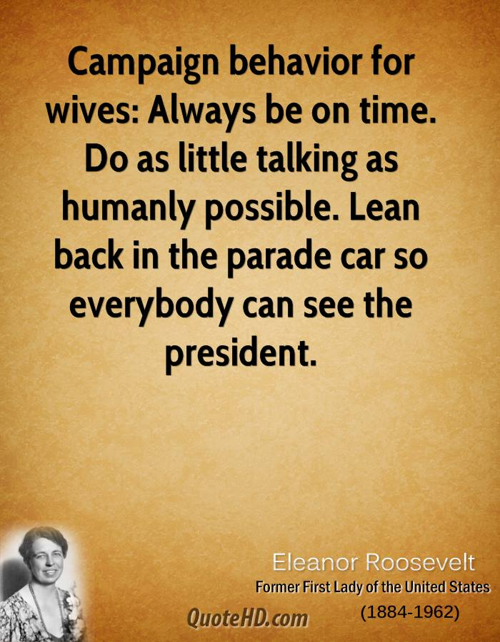 Eleanor Roosevelt Time Quotes Quotehd