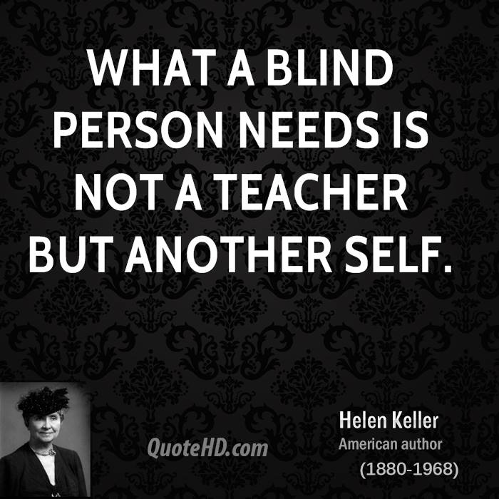 Blind Quotes: Helen Keller Quotes