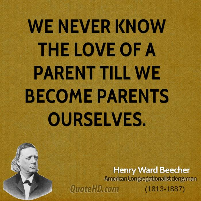 Henry Ward Beecher Parenting Quotes  QuoteHD