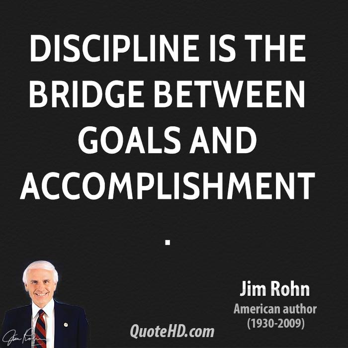 Jim Rohn Discipline Quotes