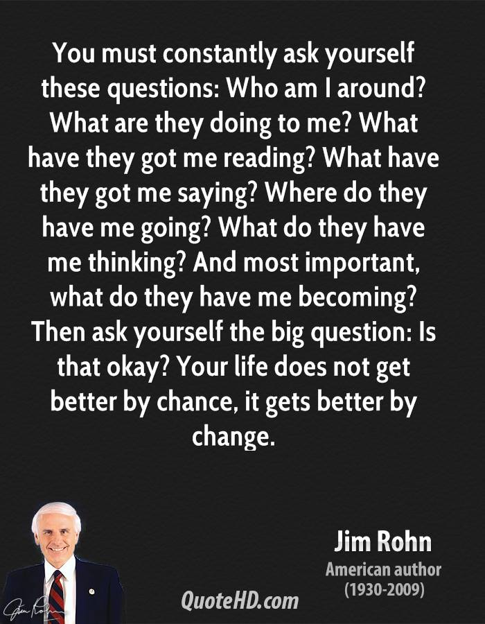 You Must: Jim Rohn Quotes