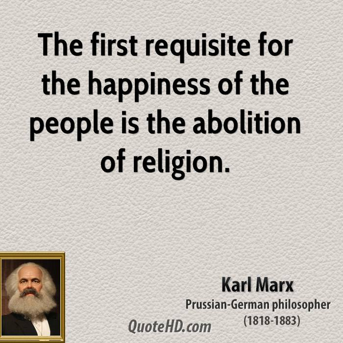 karl marx quotes on religion
