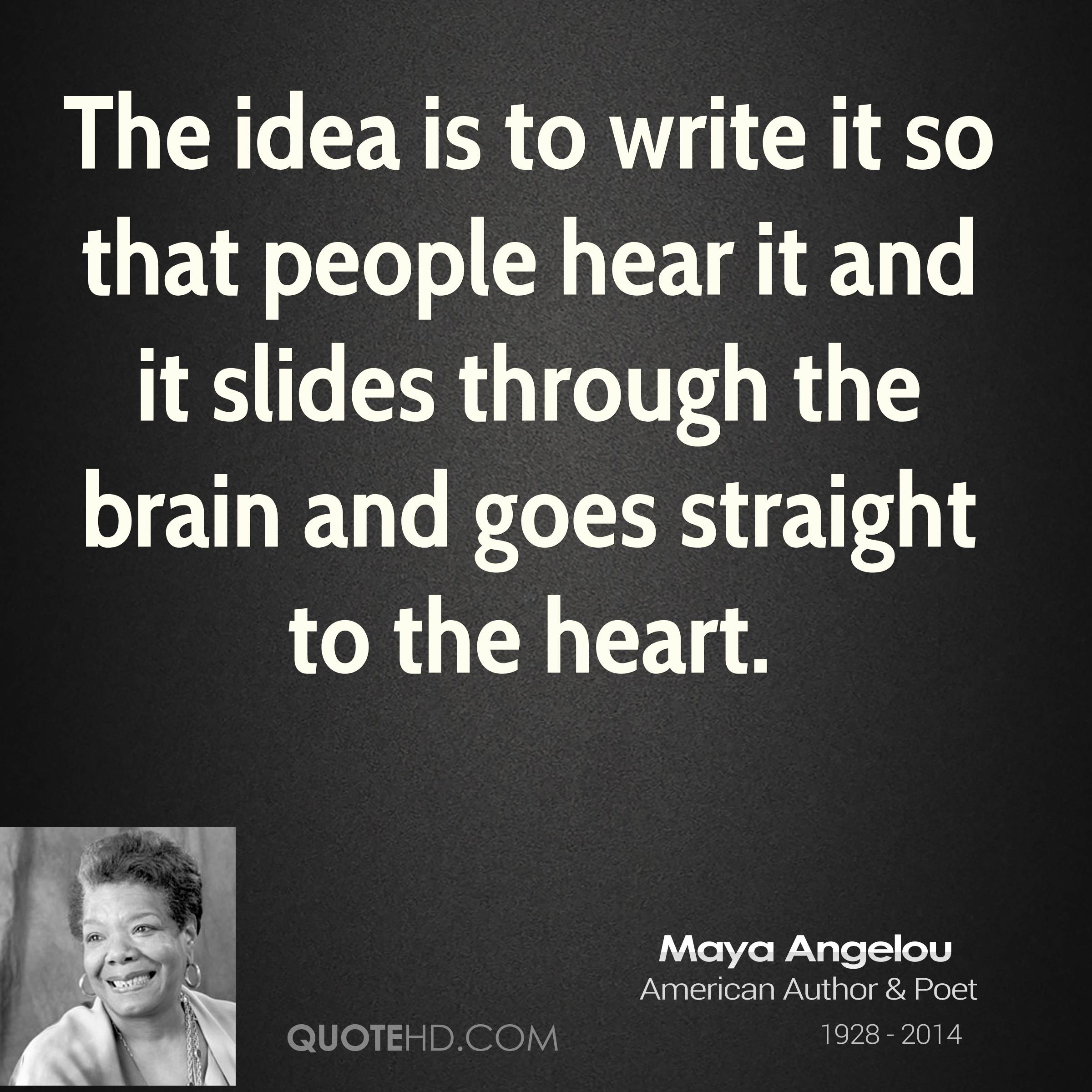 maya angelou style of writing Best answer: the style of maya angelou can range from complex symbolical ideas to easy, straightforward concepts firstly, her style is like a.