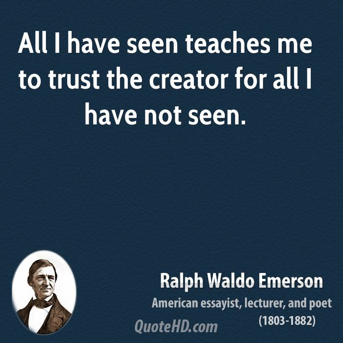 emerson self reliance essay quotes Self-reliance quotes from brainyquote, an extensive collection of quotations by famous authors, celebrities, and newsmakers.