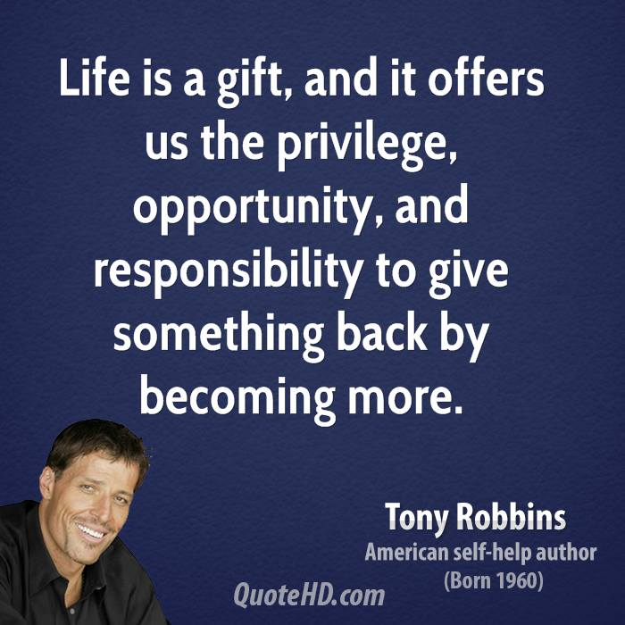 Anthony Robbins Quotes: Tony Robbins Life Quotes