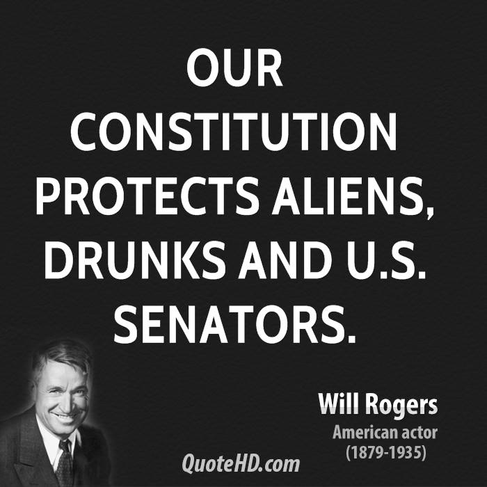 Constitution Quotes: Will Rogers Quotes