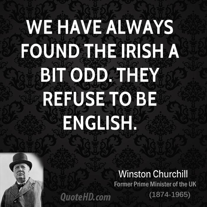 Winston Churchill St Patricks Day Quotes Quotehd