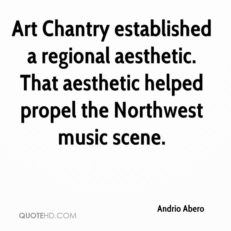 Art Chantry established a regional aesthetic. That aesthetic helped propel the Northwest music scene.