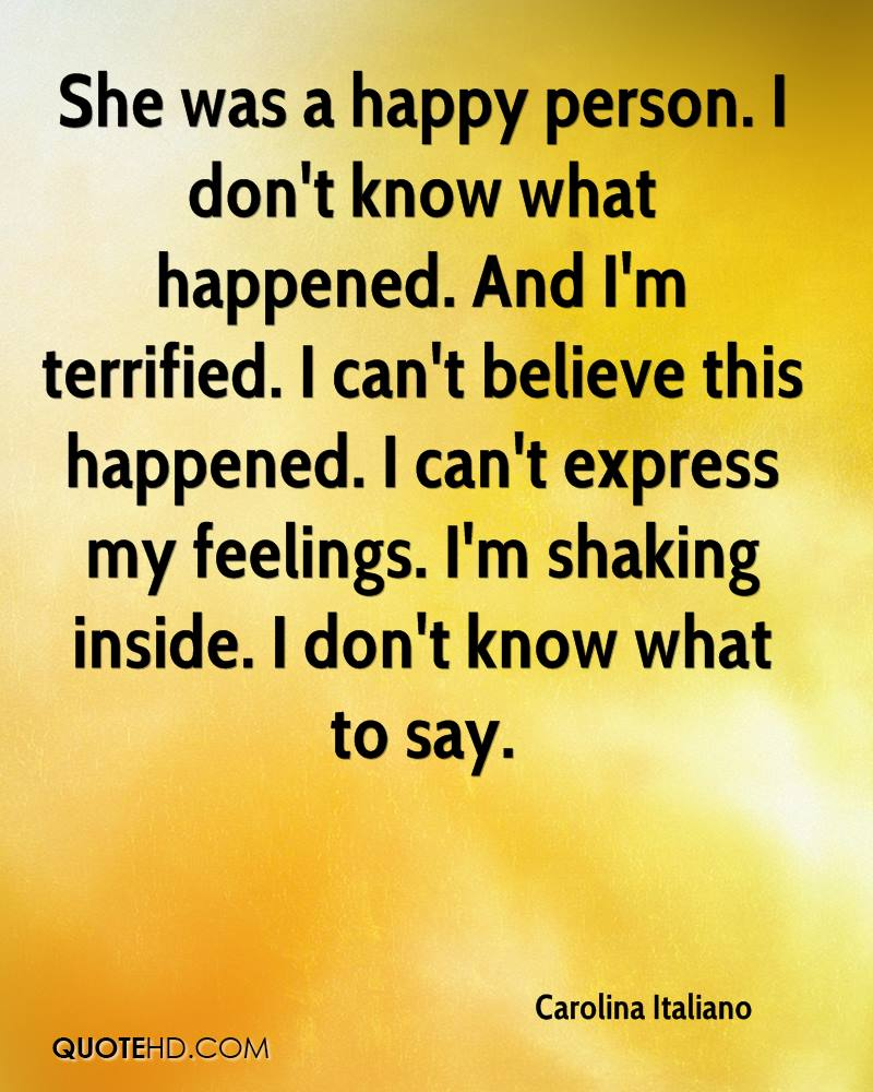 Quotes About Happy Person Carolina Italiano Quotes  Quotehd