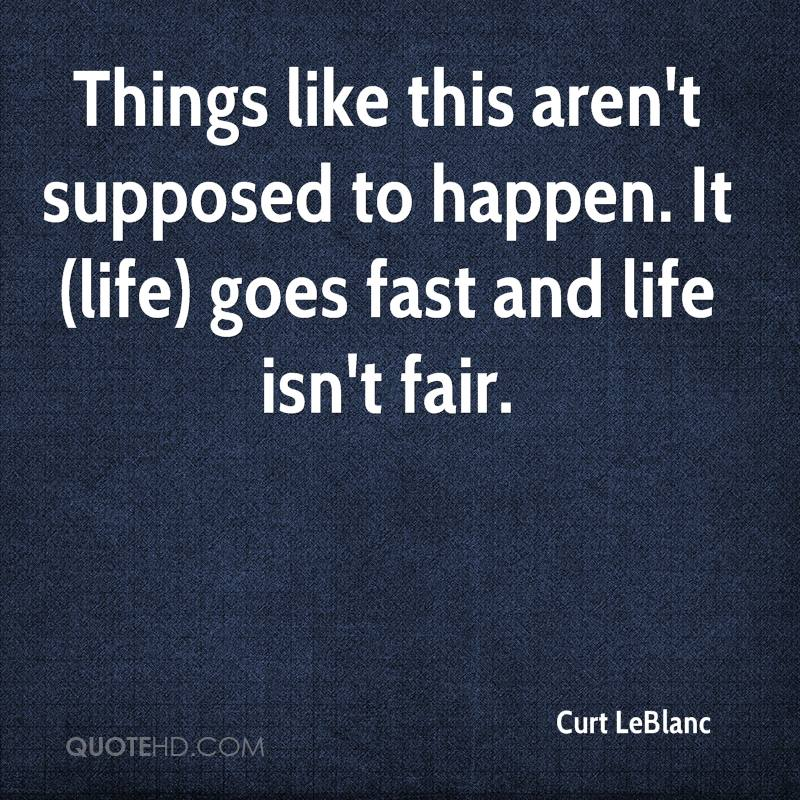 I Like Things To Happen Quote: Curt LeBlanc Quotes
