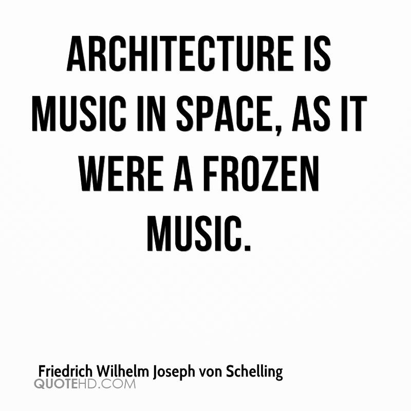 Architecture is frozen music essays introduction