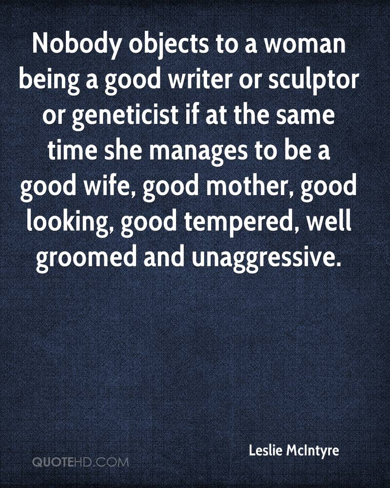 being wife and mother quotes