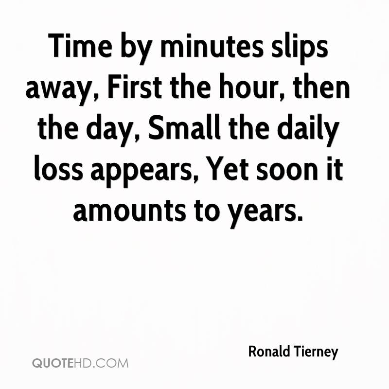 Daily Death Quotes: Ronald Tierney Quotes