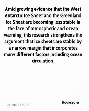 Howie Scher - Amid growing evidence that the West Antarctic Ice Sheet and the Greenland Ice Sheet are becoming less stable in the face of atmospheric and ocean warming, this research strengthens the argument that ice sheets are stable by a narrow margin that incorporates many different factors including ocean circulation.