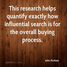 This research helps quantify exactly how influential search is for the overall buying process.