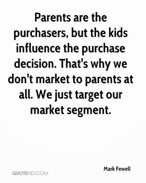 kids influence on purchases in the