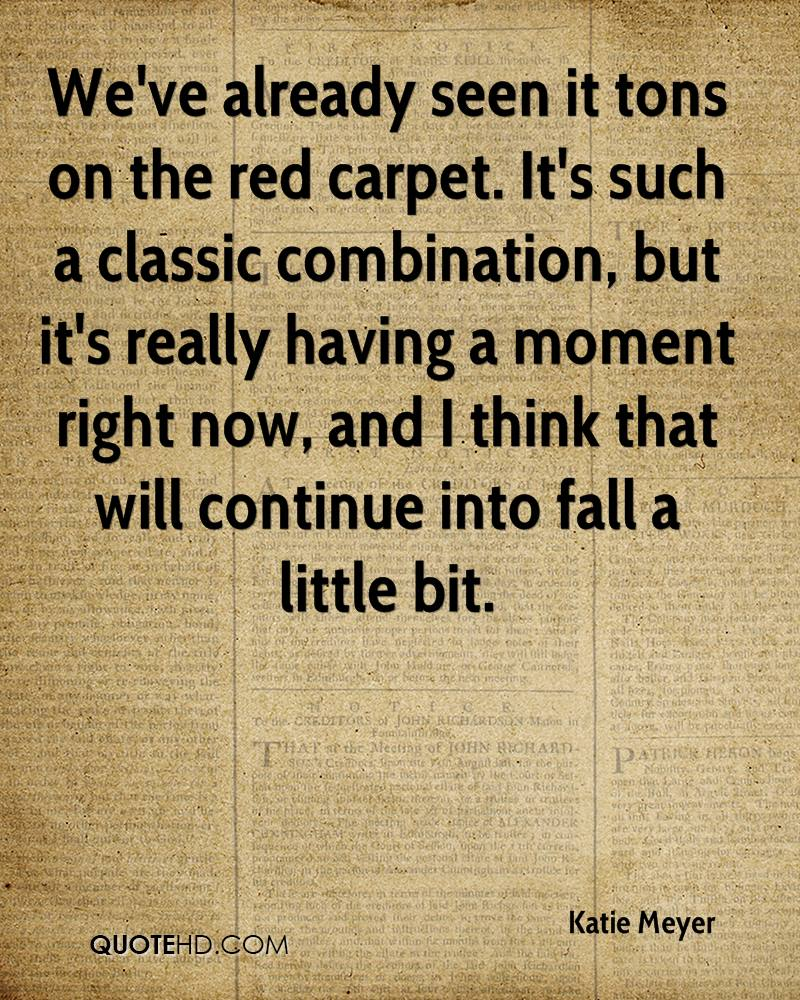 Carpet Quote Katie Meyer Quotes  Quotehd
