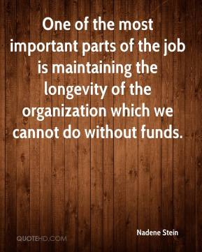 One of the most important parts of the job is maintaining the longevity of the organization which we cannot do without funds.