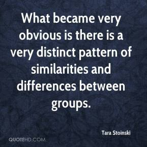 Tara Stoinski  - What became very obvious is there is a very distinct pattern of similarities and differences between groups.