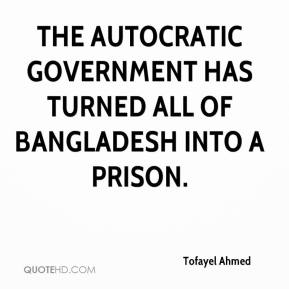 Tofayel Ahmed  - The autocratic government has turned all of Bangladesh into a prison.
