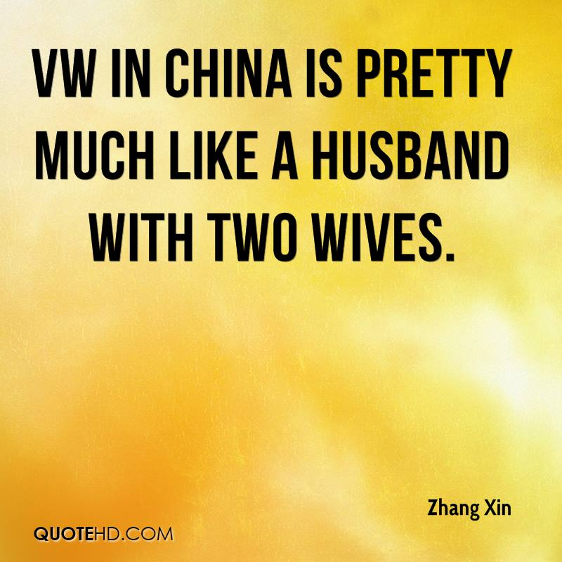 Vw Quote Stunning Zhang Xin Husband Quotes  Quotehd