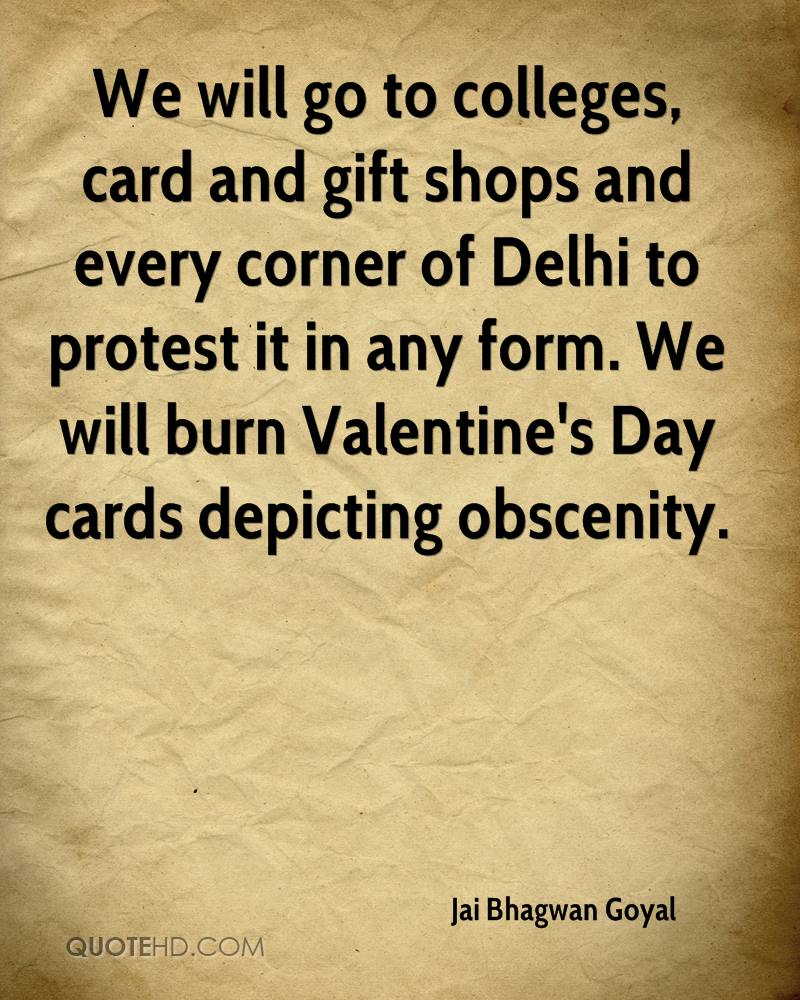 We Will Go To Colleges Card And Gift Shops And Every Corner Of Delhi To
