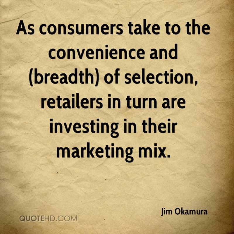 As consumers take to the convenience and (breadth) of selection, retailers in turn are investing in their marketing mix.