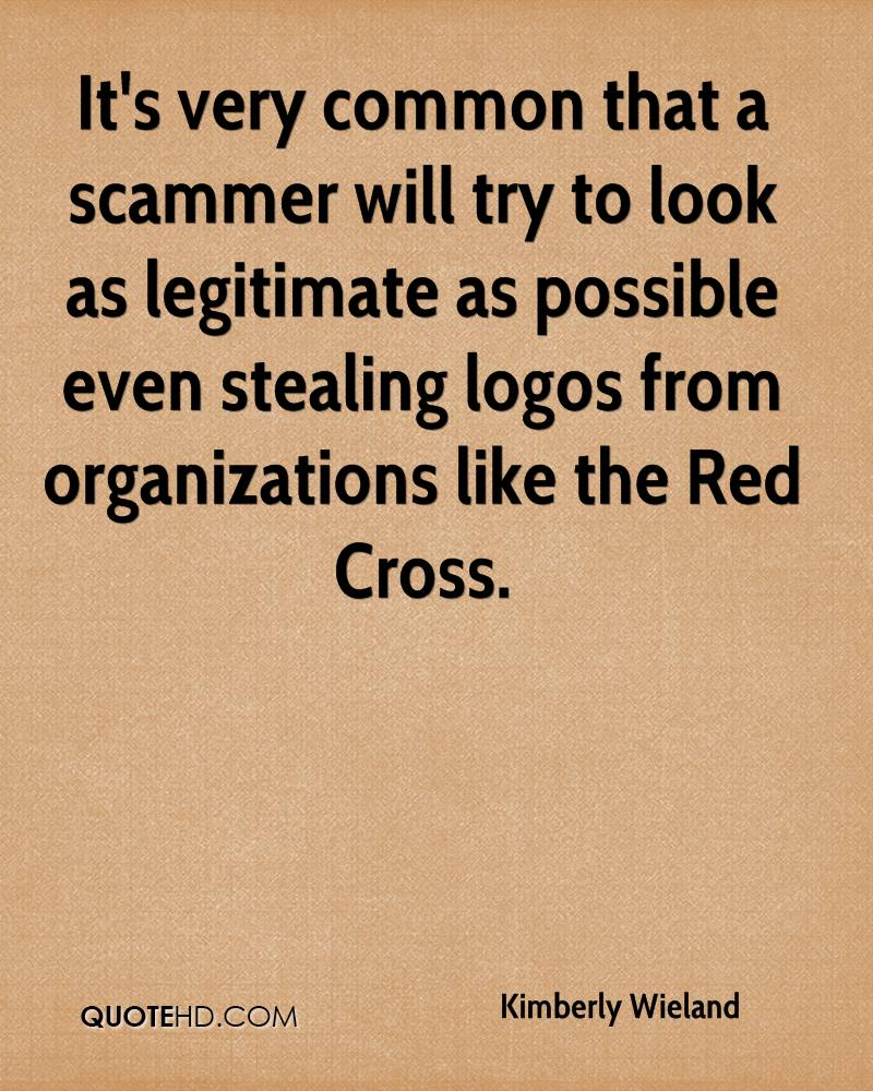 Scammer quotes